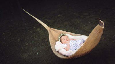 seance photo bebe lac feuille de coco studio graou
