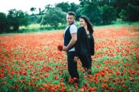 photo couple coquelicot caux studio graou