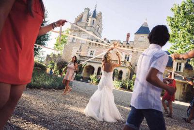 alternative lancer bouquet mariage ruban decouper studio graou chtateau de grezan