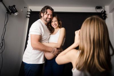 Photographe de maternité a Maglas avec Studio Graou