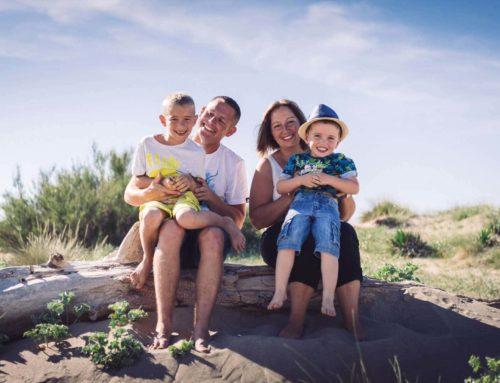 Des Photos de Famille pour le Plaisir à la Plage