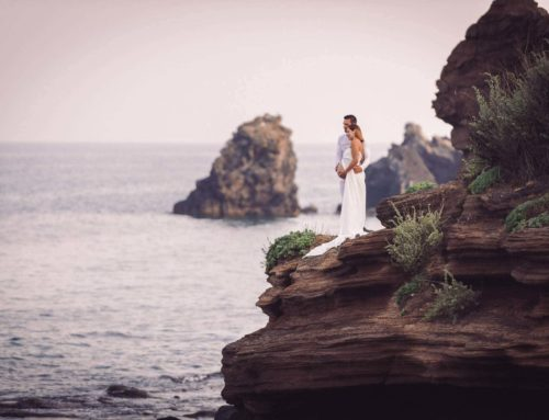 Séance photo grossesse au Cap d'Agde pour les vacanciers de Moselle