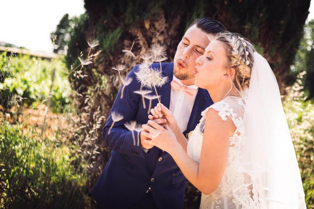 photographe mariage alignan du vent studio graou