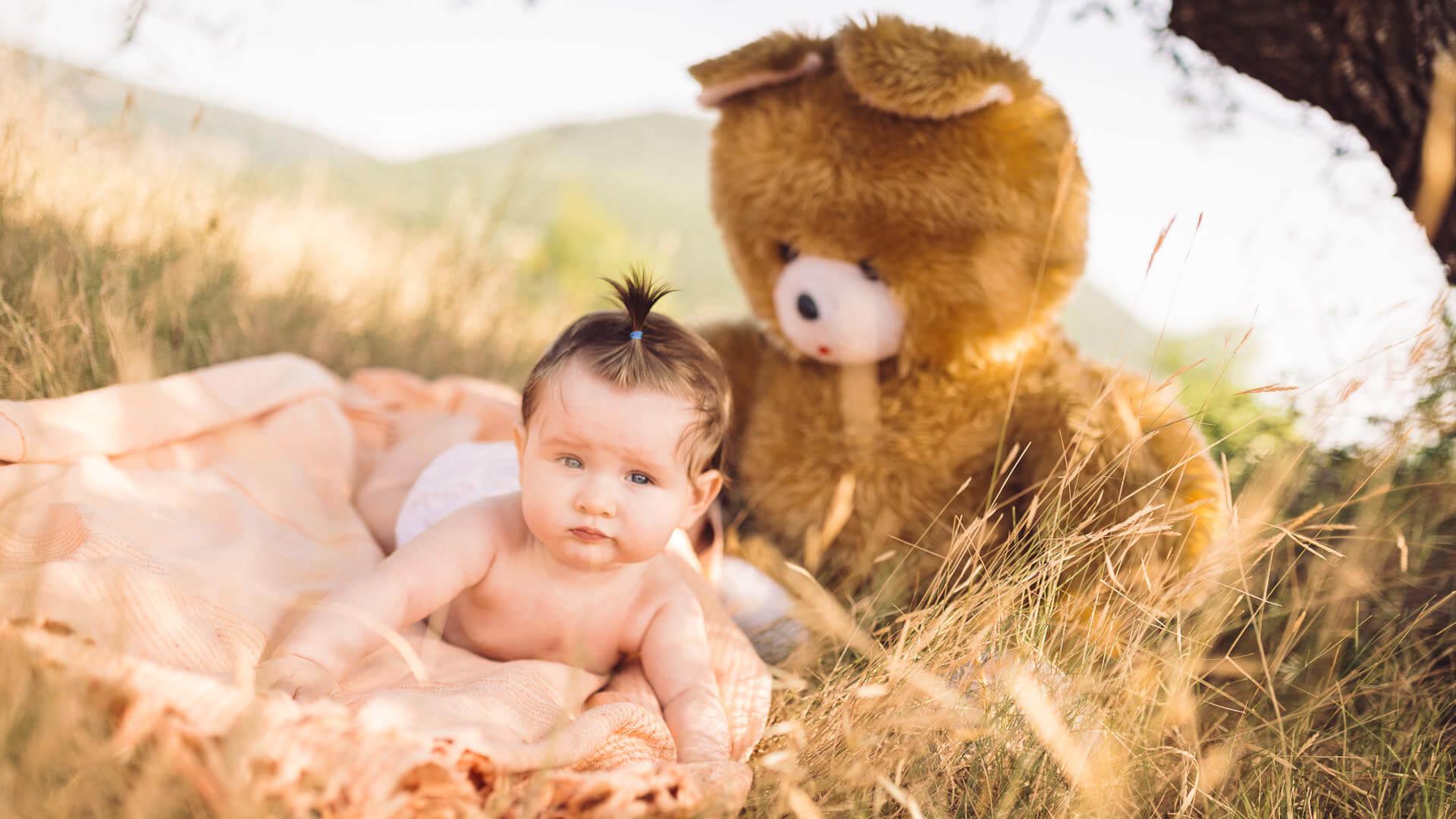 photographe bebe exterieur lac du salagou herault studio graou
