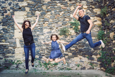 fun jeux rire shooting photo famille original beziers studio graou
