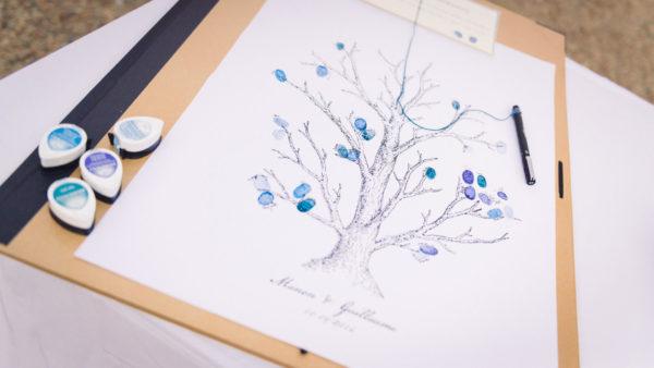 idée mariage arbre empreinte studio graou