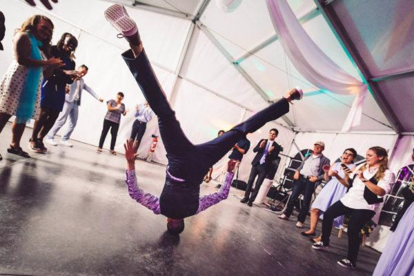 Breakdance pendant un mariage - Studio Graou