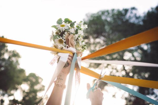 lancer bouquet mariage original studio graou