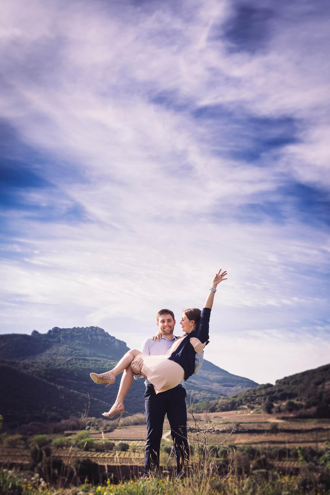 photographe mariage love session herault