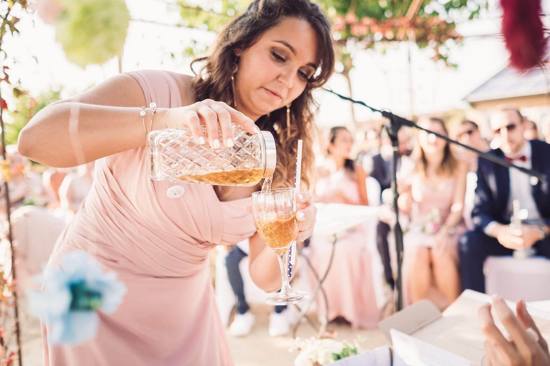 rituel cocktail cérémonie mariage herault