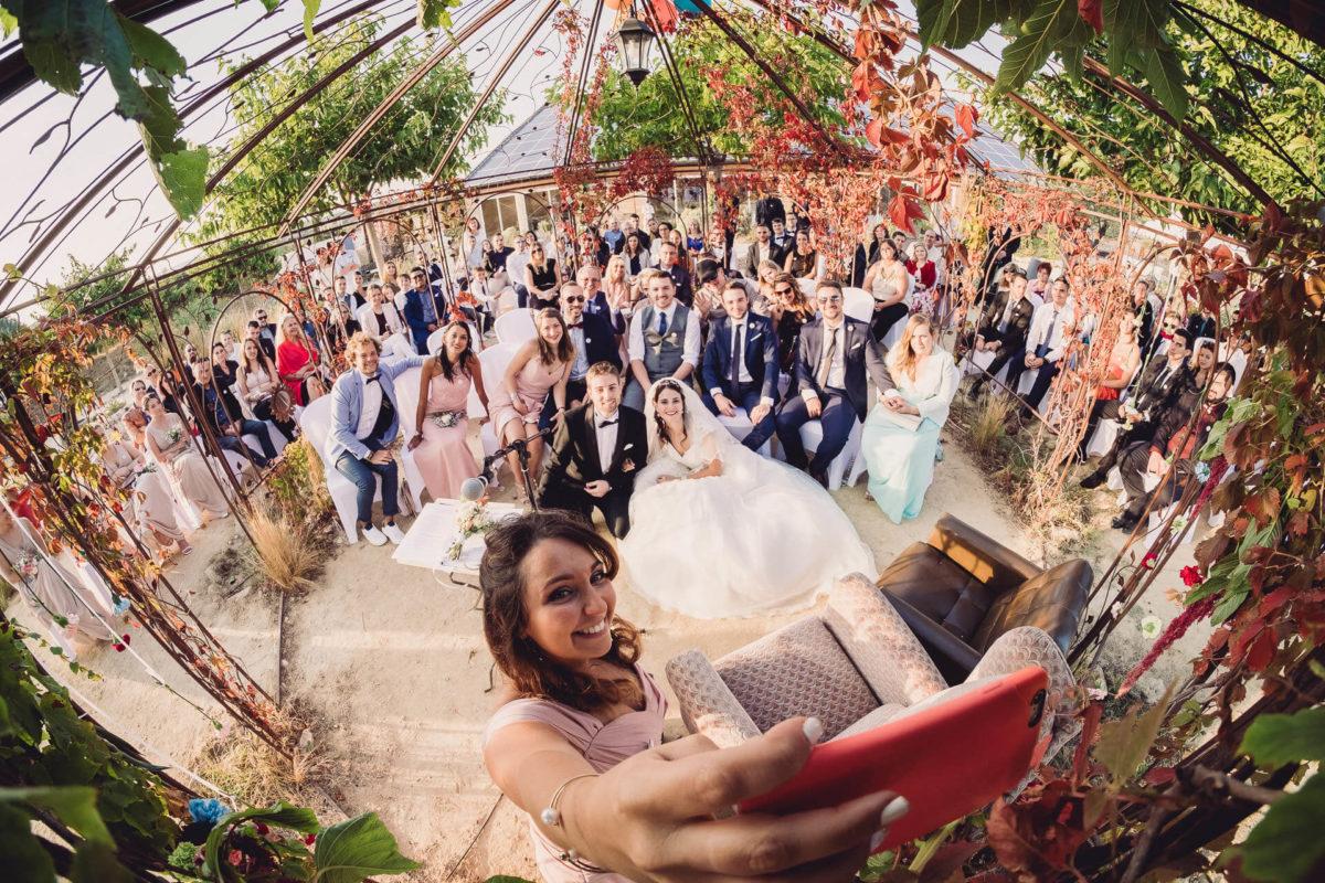 rituel mariage laique selfie geant