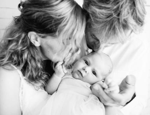 La séance photo bébé à domicile de Lison, 1 mois