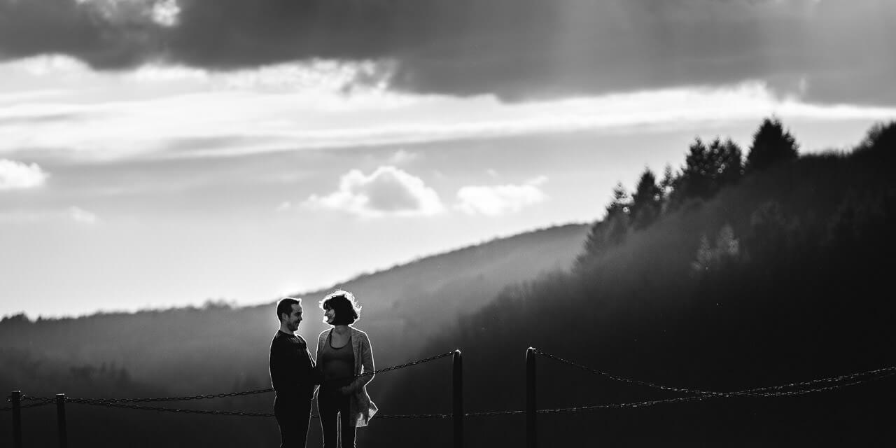 photographe grossesse beziers lac de la raviege