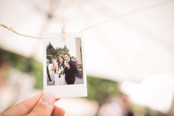 polaroid mariage studio graou