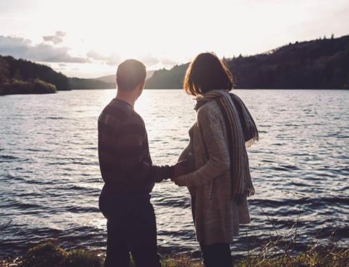 Autour des lacs de la Salvetat-sur-Agout pour un shooting grossesse