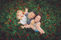 photographe famille prades-le-lez herault coquelicot