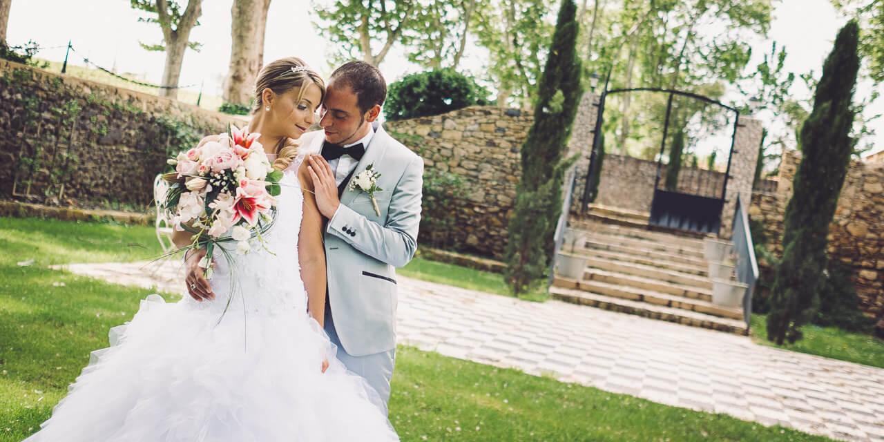 photographe mariage saint-thibery château de sainte cécile
