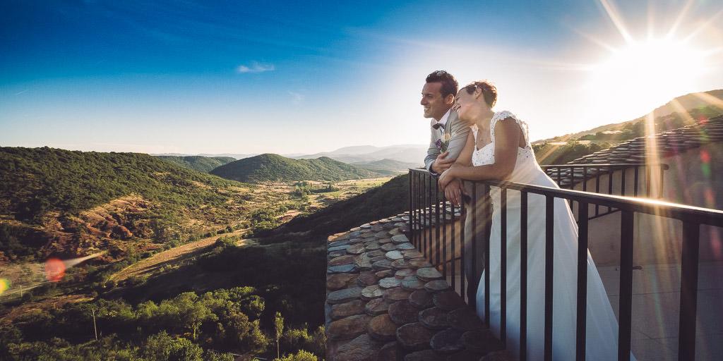 photographe mariage sud france chateau de dio valquieres