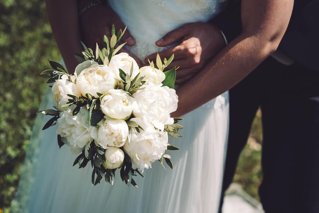 photographe bouquet mariage caux