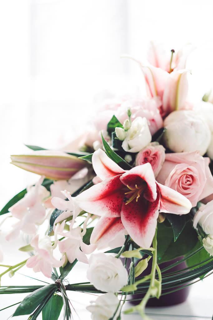 photographe bouquet mariage pezenas
