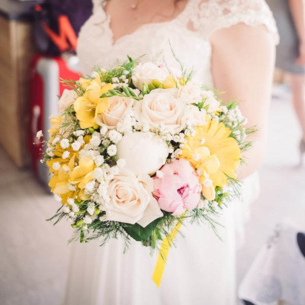 photographe bouquet mariage agde