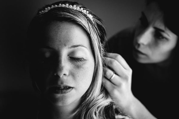 preparatif coiffure mariée bezeirs