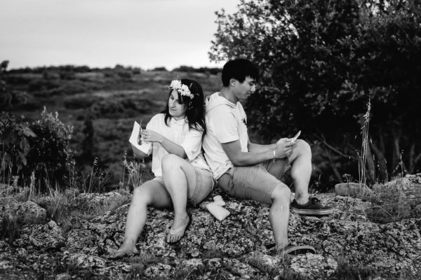 seance photo couple engagement geek gigean