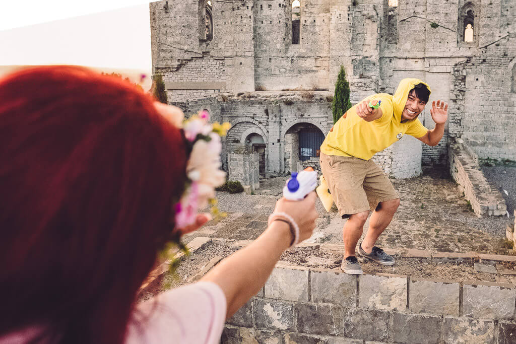 seance photo couple engagement geek gigean