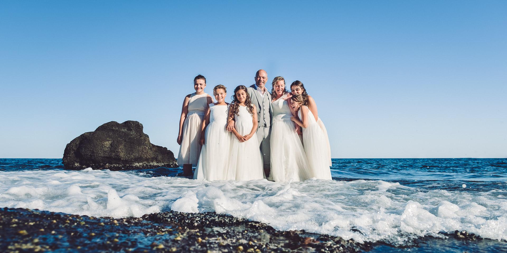 photographe famille cap agde après mariage