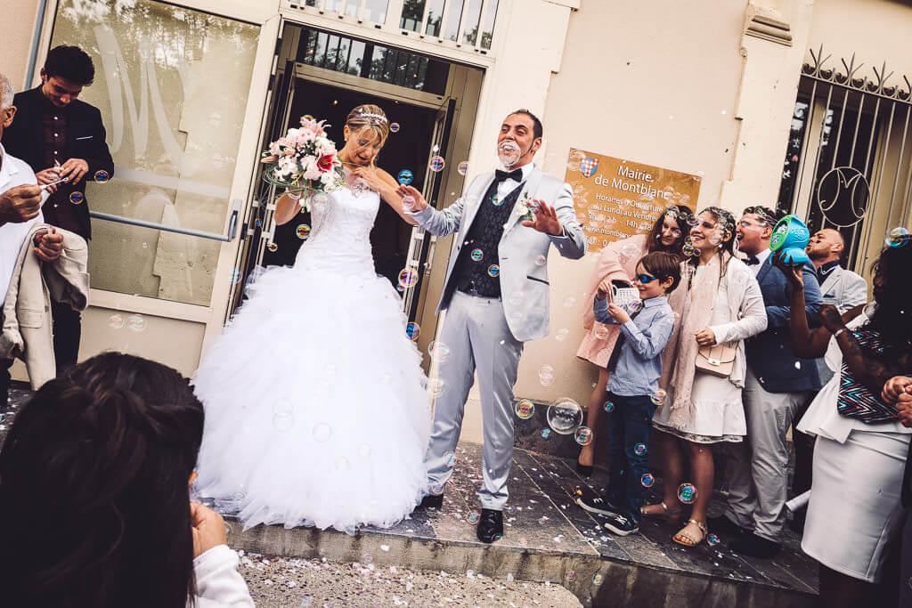 photographe mariage saint thibery