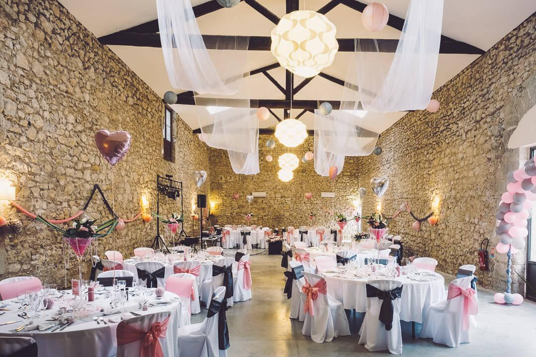 décoration de mariage domaine de la grangette studio graou