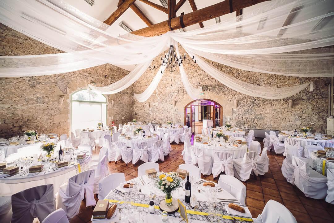 décoration de mariage auberge de bessilles studio graou