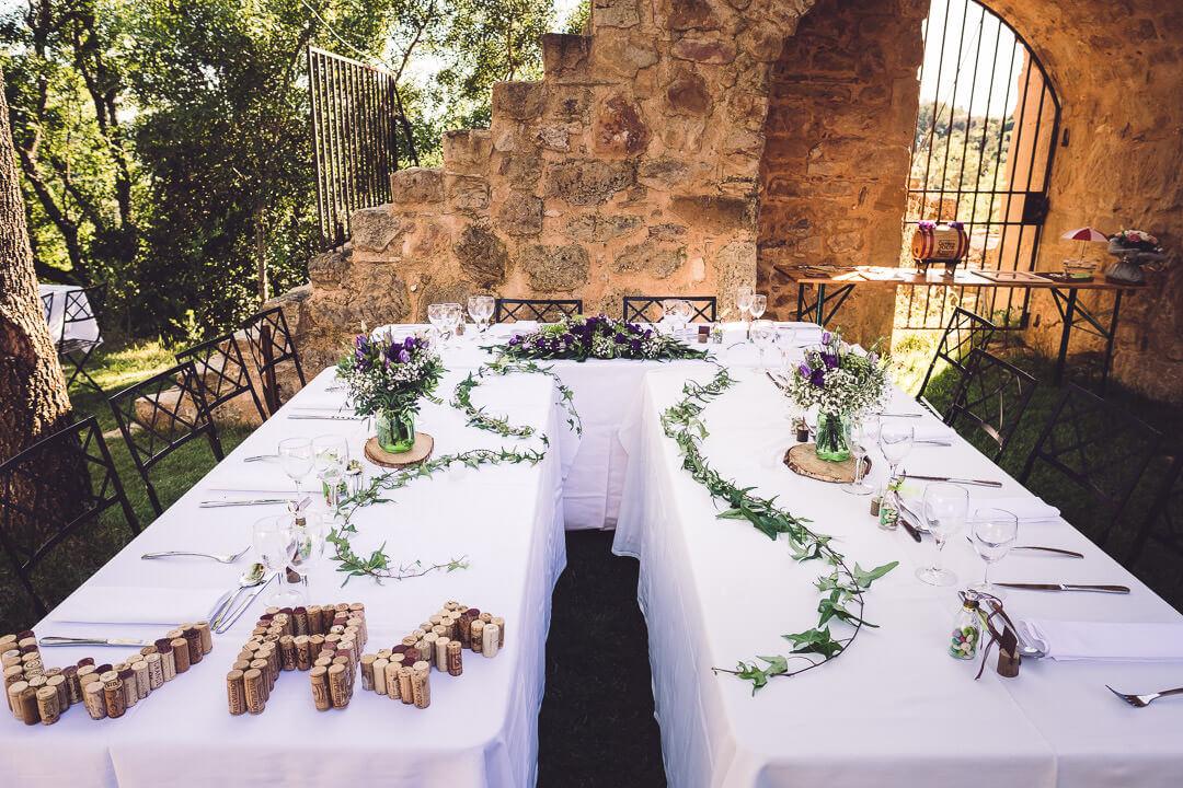 décoration de mariage chateau de dio studio graou