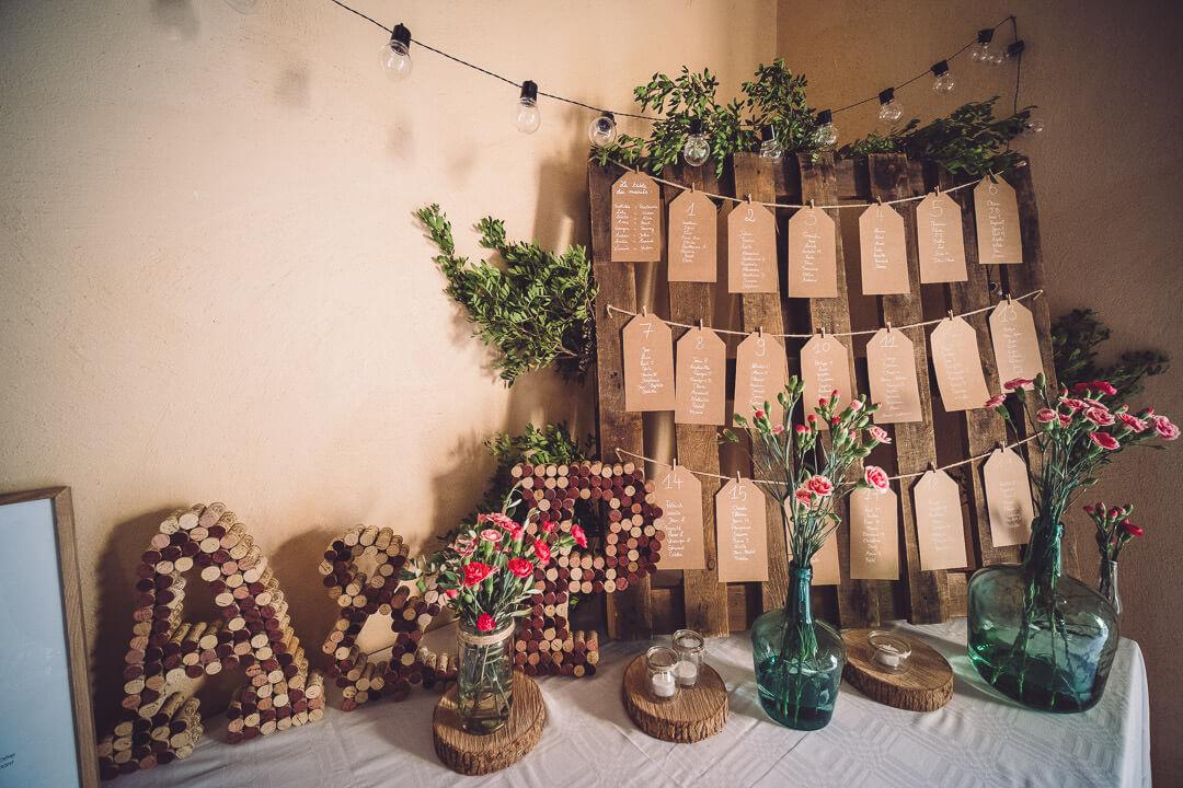 décoration de mariage chateau de boutenac studio graou