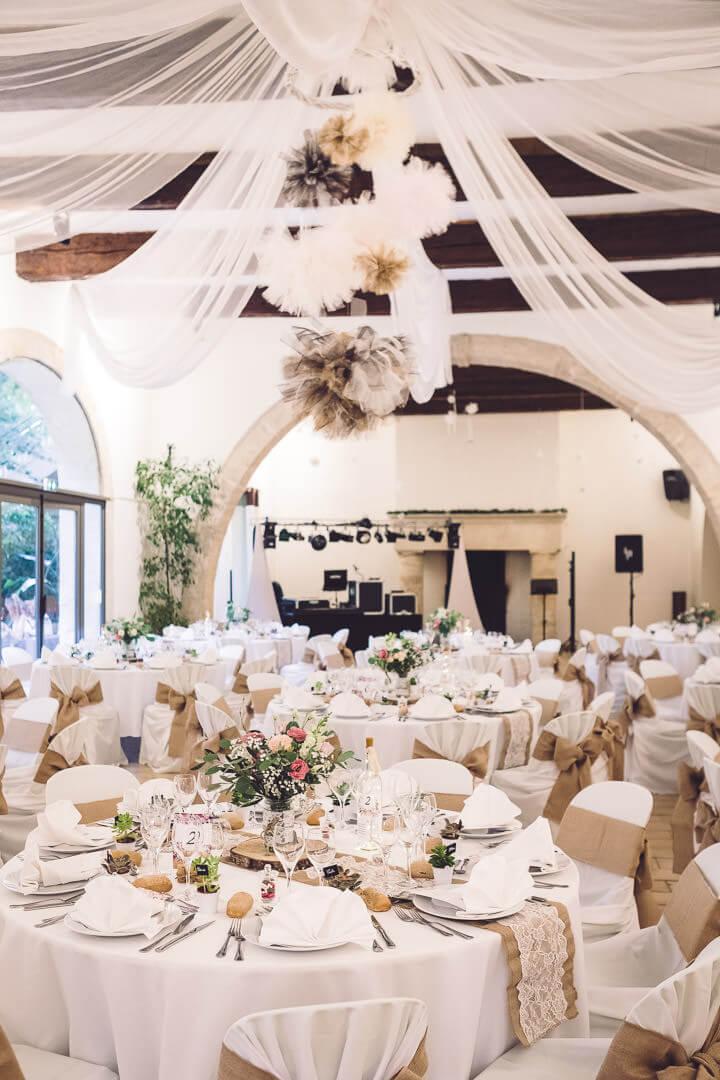 décoration de mariage domaine de l'argentière studio graou