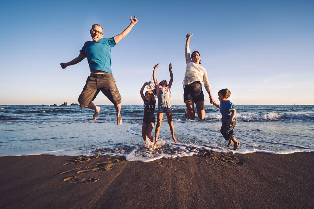 shooting family beach cap agde