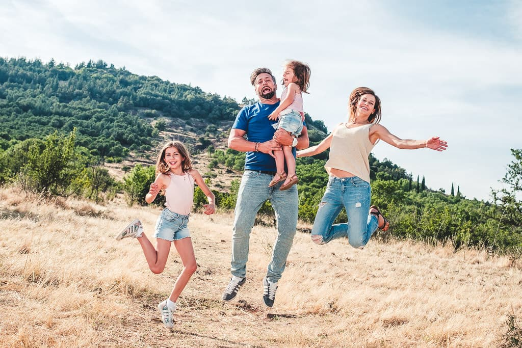 photographe famille salagou herault