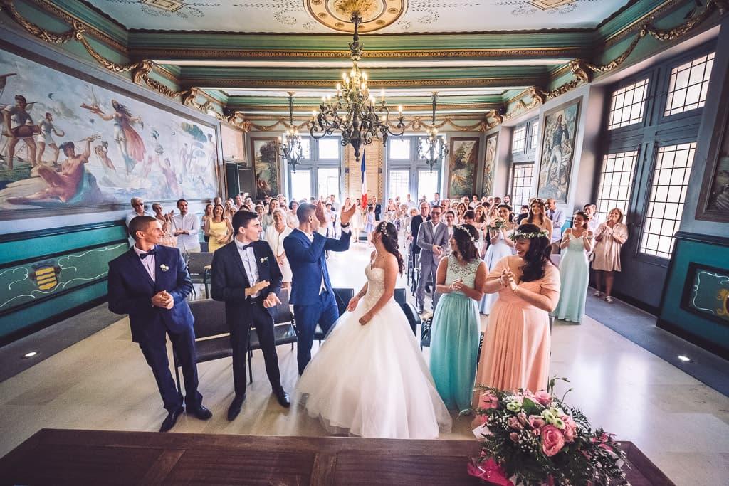 photographe mariage mairie agde herault