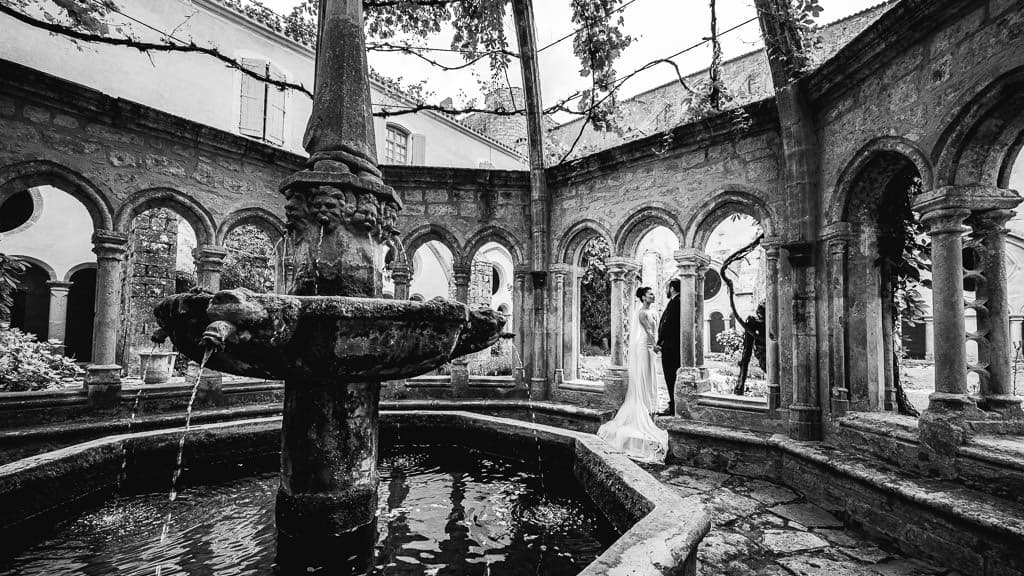 photographe mariage villeveyrac abbaye de valmagne