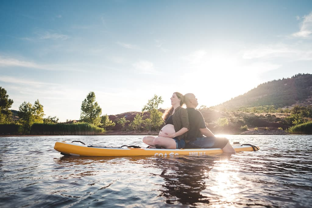 photographe femme enceinte frontignan lac du salagou
