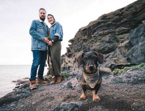 Séance photo grossesse au Cap d'Agde avec Nash